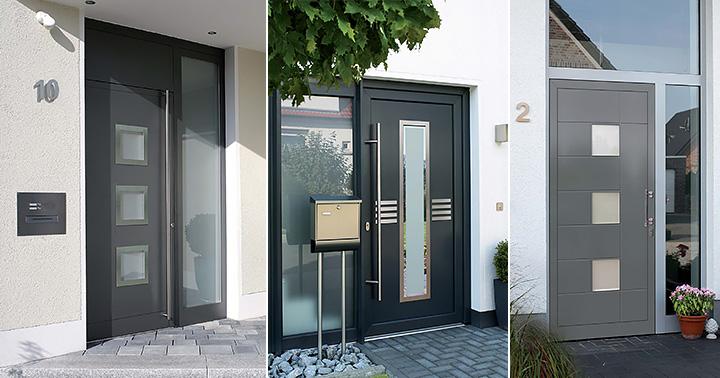 Alutüren  Die passende Tür zu Ihrer Welt. | Nähere Informationen | Peter ...